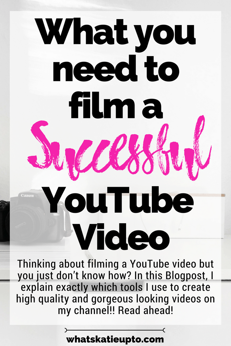 What you need to film a successful YouTube video, youtuber, youtube video, filming a video, filming, editing videos, YouTube video, thumbnail, video lighting, video audio, CANVA; RODE, FINAL CUT PRO