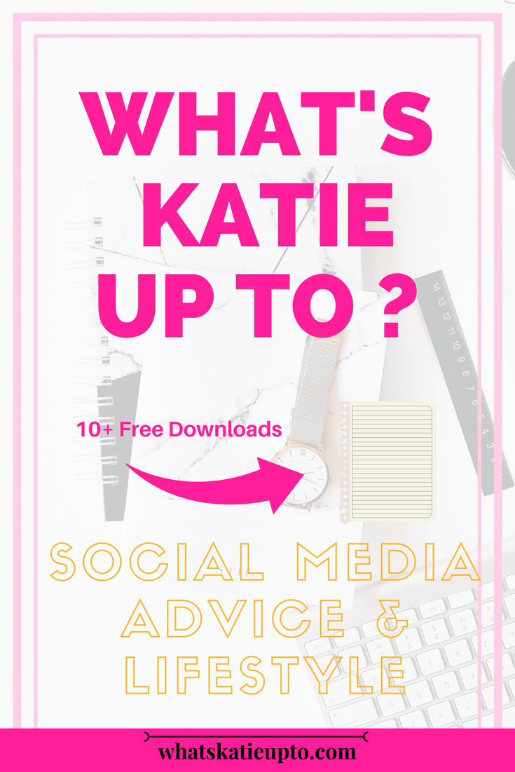 What's Katie Up To, Katie Grazer, Social Media Tips, Blog Tips, Make Money Blogging, Blogger