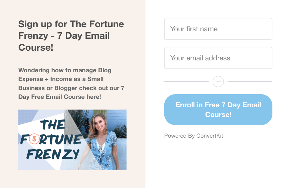 The Best Email List Building Service for Blogger - Katie