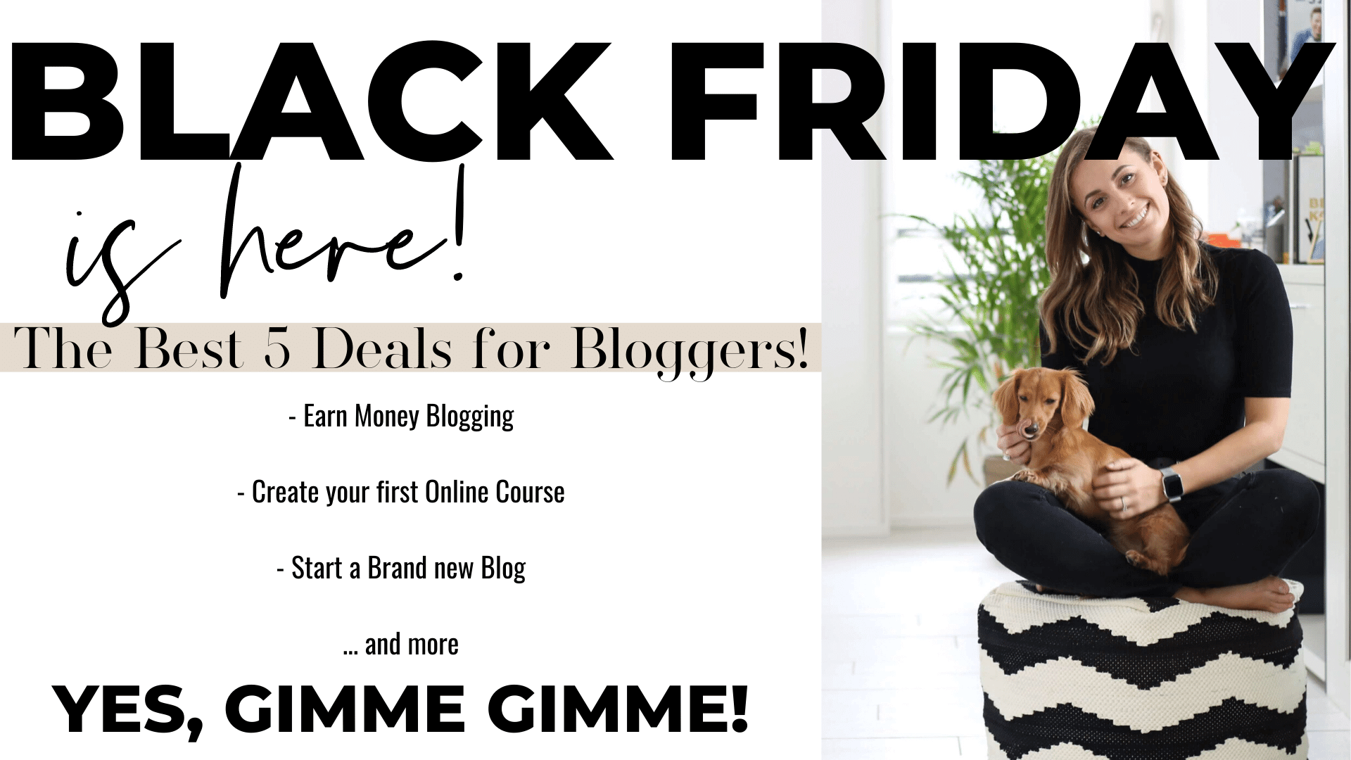 Black Friday 2019 for Bloggers